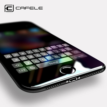 CAFELE Screen Protector for iphone X 7 8 6 6s plus 5 5s se Tempered Glass 2.5D Edge Protective Glass Film for Apple iPhone premium tempered glass flat edge screen protector for iphone 5 transparent