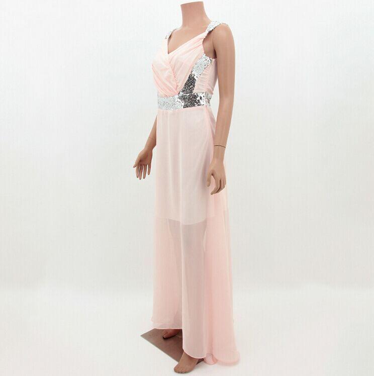 Spaghetti Strap Floor-length Dresses HTB1