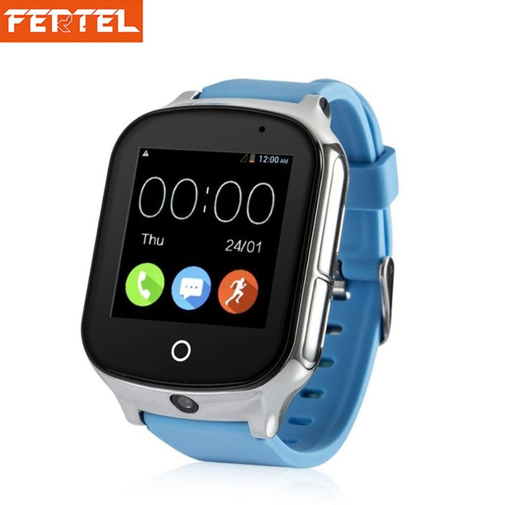 Дети умные часы-телефон 3g gps Детские умные часы трекер с sim-карты WI-FI SOS фунтов Камера здоровья шагомер A19 Просмотрам