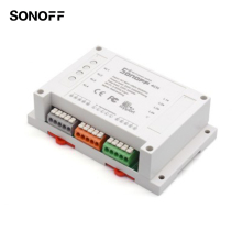 Sonoff 4ch Channel Distant Management WiFI Swap Residence Automation Module Wi-fi Timer DIY Swap