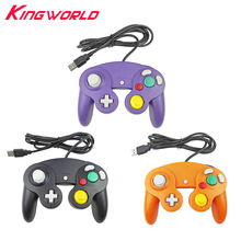 Wired USB interface Game Controller Joypad Joystick for PC Gamepad Not compatible for Nintendo NGC Controle