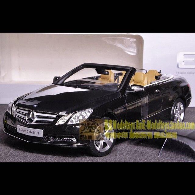 1 18 Germany Original Norev Mercedes Benz Cl E E500 Convertible Black Car Model