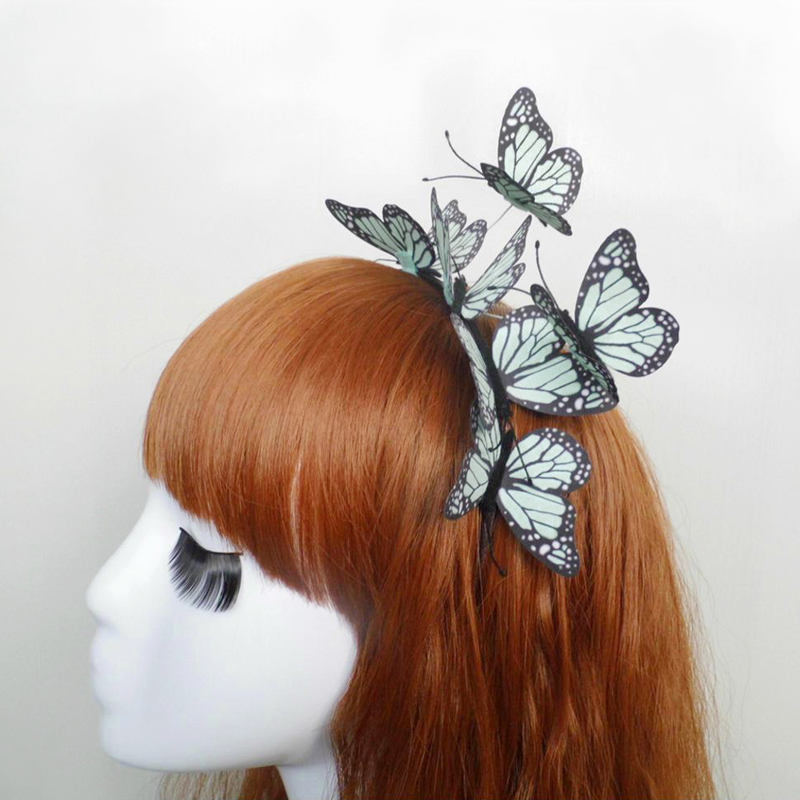 Fashion Cloth Butterfly Simulation High Quality Headband Hair Accessories