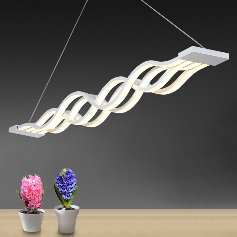 ФОТО Led Pendant Lights Modern Lamparas Colgantes AC90-260V Hanging Ceiling Lamp Coffee Restaurant Deco Avize Home Lighting Luminaire