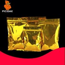 gold Eye mask monitor Granule foil PC board Circuit drug Optical drive hard disk cosmetic tea nut bag Packag bone Zipper ziplock