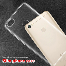 Silicone Phone Case for Xiaomi Redmi Note 7 6 5 Pro Transparent Soft TPU Cases Protective Mi 9 SE 8 Lite