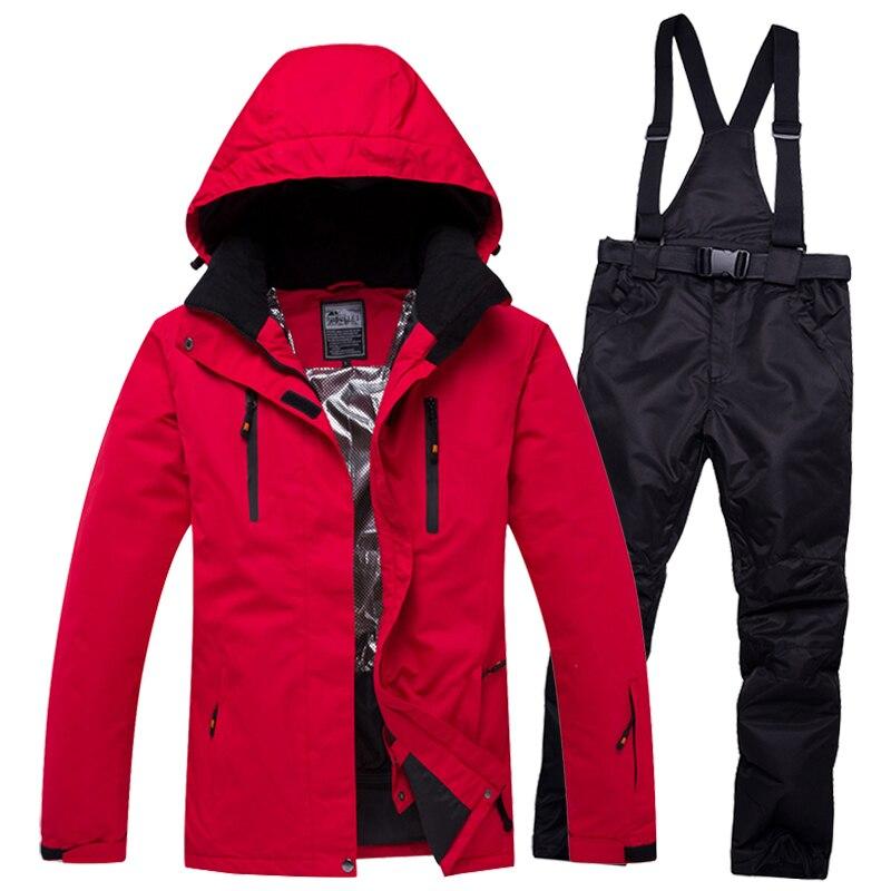 2019 Super chaud femmes hommes Ski costume Snowboard veste pantalon coupe-vent imperméable respirant en plein air Sport porter Ski équitation costume