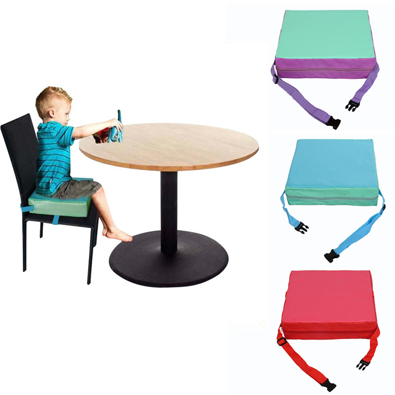 Kids Baby Safety Chair Seat Portable Dining HighChair Seat Removable Children Increased Chair Pad Mat Pad Baby Booster Seats