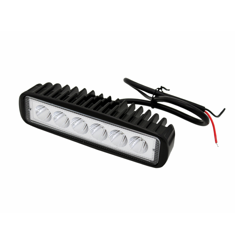 2Pcs / Lot SUNKIA 18W Daşqın LED işığının işıqforu 4x4 yol - Avtomobil işıqları - Fotoqrafiya 5