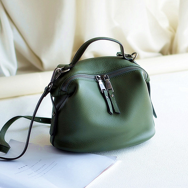 The first layer of soft leather and retro minimalist leisure bags all-match bangalor Xiekua package Commuter Bag the first layer of leather shoes and a pedal comfort all match full leather comfortable foot leather bottomed women shoes
