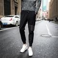 Гарем Брюки Новый Стиль Моды 2017 Случайные Тощие Тренировочные Брюки Падение Промежность Брюки Мужчины Бегуны Sarouel