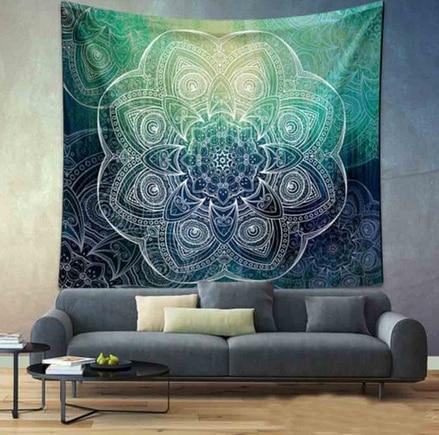 Indian Bohemian Flower Tapestry Wall Hanging Throw Mandala Towel Beach Yoga Mat 130cmx150cm/150cmx210cm Table cloths Wall Carpet