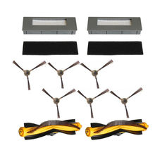 Üst satış filtresi fırçalar sünger Ecovacs Deebot için M87 M88 900 901 robotik elektrikli süpürgeler
