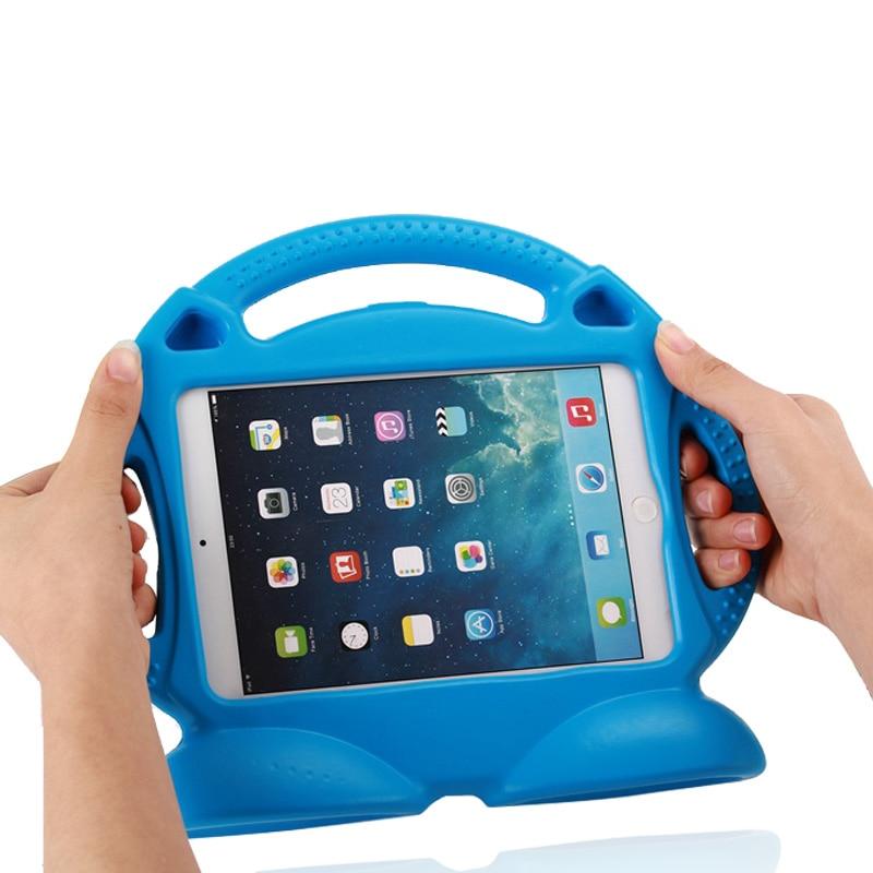 Korpus iPadile 2 3 4 Mürgine EVA käepide Stand Shock Proof EVA kogu - Tahvelarvutite tarvikud - Foto 4