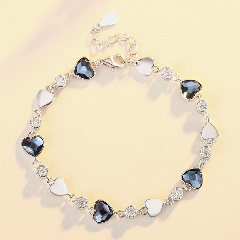 Aliexpress Com Buy Home Utility Gift Birthday Gift Girlfriend Gifts Diy From Reliable Gift Diy: Aliexpress.com : Buy 925 Sterling Silver Crystal Bracelet