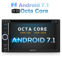 Pumpkin 6 2 Inch Android 6 0 Two 2 Din Universal Car DVD Player For Volkswagen