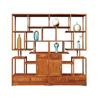 Китайская антикварная декоративная полка твердая деревянная мебель китайский Ежик палисандр мебель с 6 деревянными ящиками книжная полка