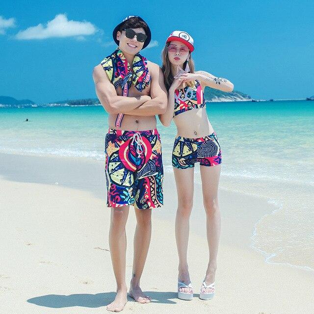 f42cba0b88 Swimwear Women Bikinis Set Couple Matching Clothes Beach Style Mens Trucks  Family Matching Outfits Tankini Bathing Suit
