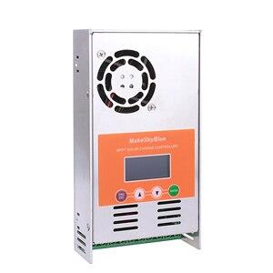 Image 2 - Makeskyblue Mppt Solar Laadregelaar 30A 40A 50A 60A Automatisch Voor 12V 24V 36V 48V Batterij niet Pwm Power Regulator