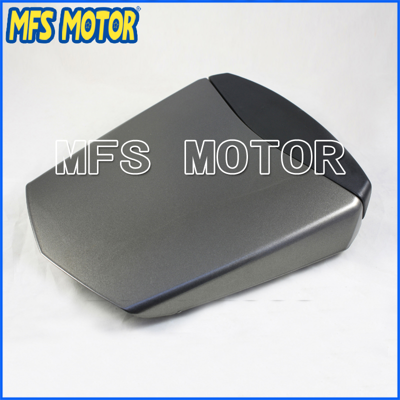 For YZF-R6 Motorcycle Accessories Rear Pillion All Gray Injection ABS Seat Cowl Cover For Yamaha YZF-R6 2003-2005 04