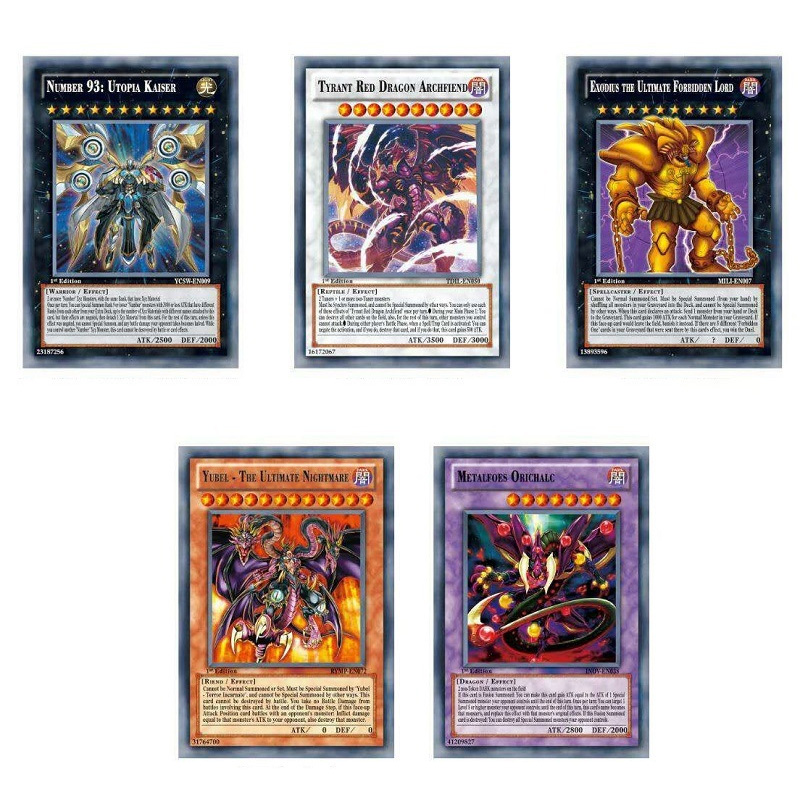Home Yu Gi Oh English Game Cards Kids Play Carton Japan Yugioh Game Cards For Collection 42pcs