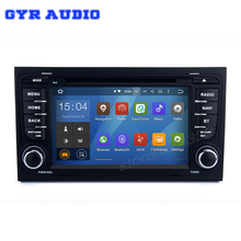 Android 5.1 Car dvd GPS radio for Audi A4 S4 RS4 2002-2008 with quad core 1024*600 bluetooth wifi 3G audio stereo canbus