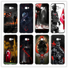Turkey Flag Soldier Soft TPU Phone Case Cover For Samsung Galaxy A3 A5 A7 Alpha G355H 8262 G360 I9082 G530 J7 J8 On5 On7 2018(China)