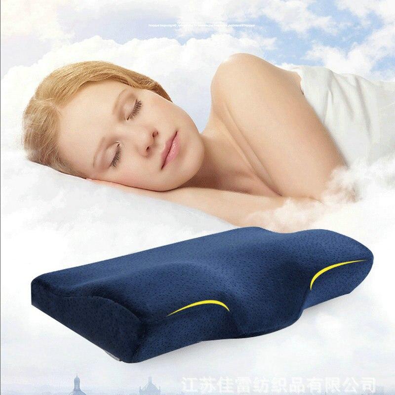 Memory Foam Pillow Neck Pillow Fiber Slow Rebound Cervical font b Health b font font b
