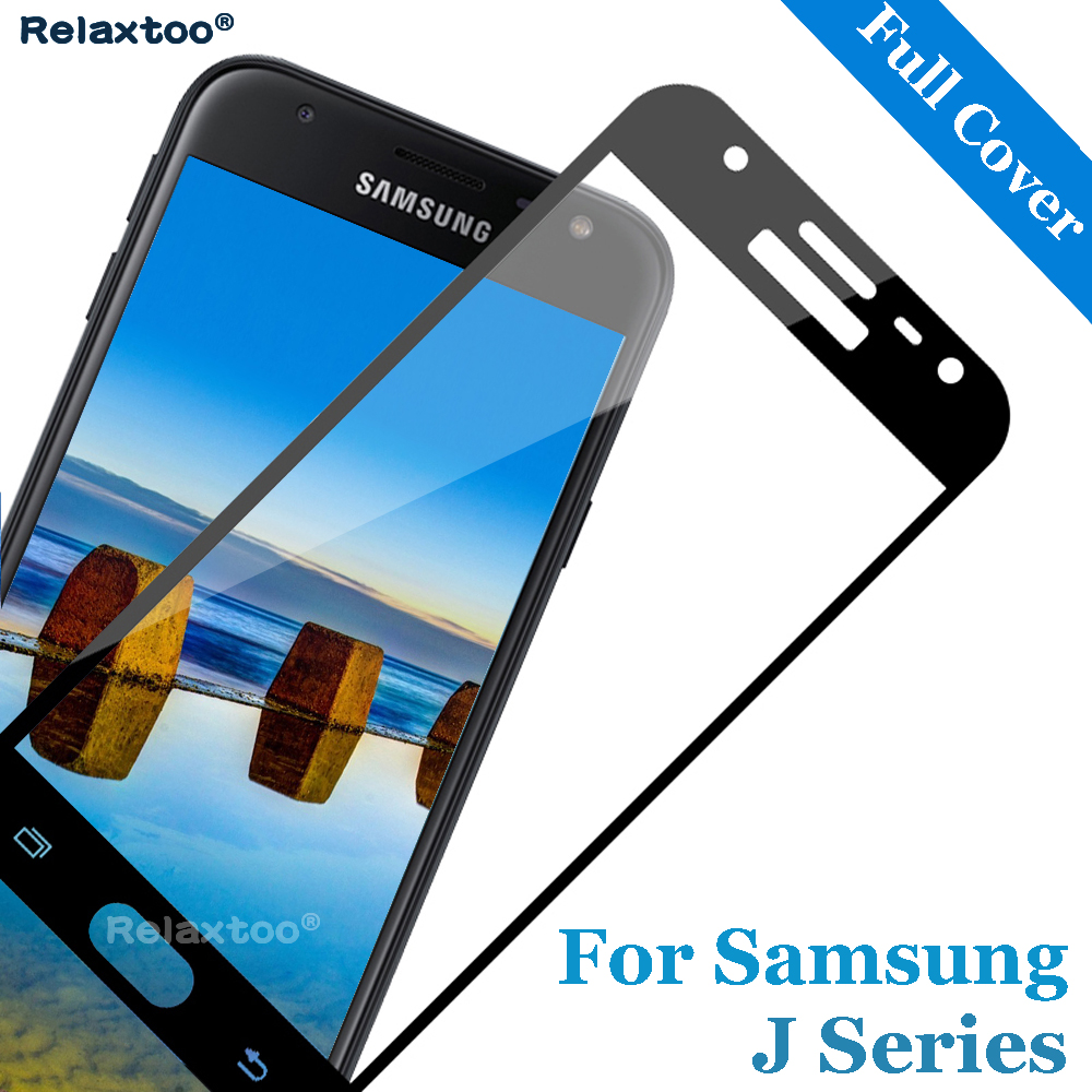 For Samsung a6 plus 2018 Tempered Glass for Sansung galaxy J2 J3 J4 J5 J6 J7 Pro 2016 2017 2018 Screen Protector full cover film