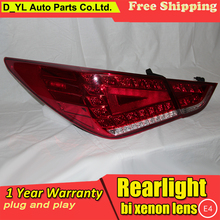 Car Styling for Tail Lights 2011 2015 Hyundai sonata LED Rear Light Fog light Rear Lamp_220x220 hyundai sonata tail light promotion shop for promotional hyundai 2011 hyundai sonata tail light wiring harness at gsmx.co