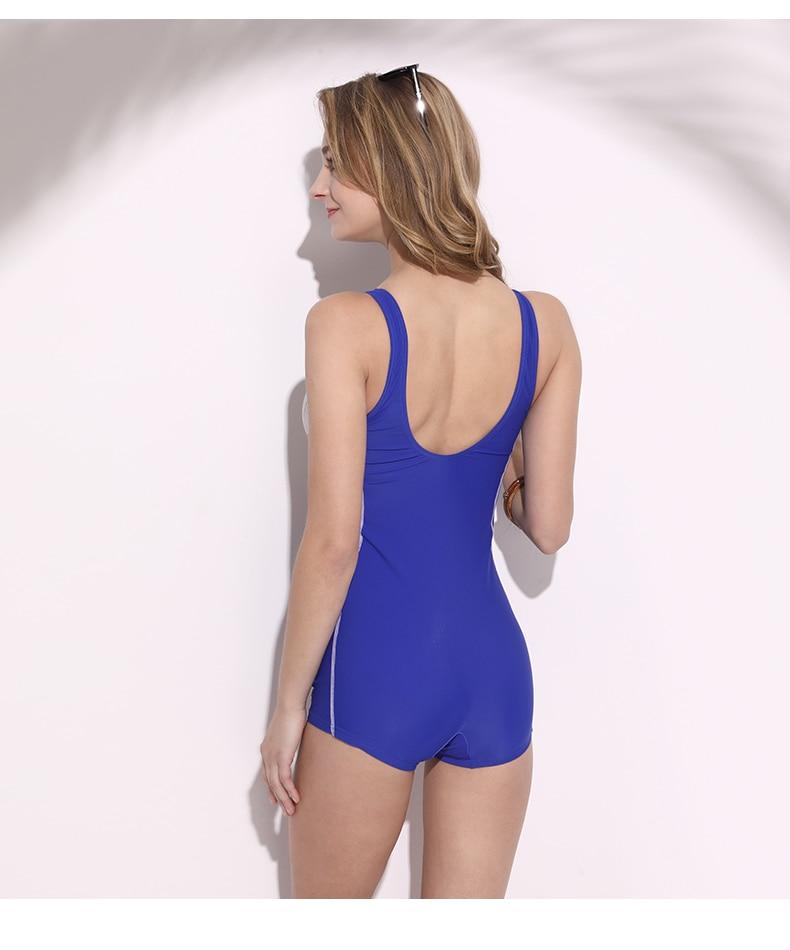 Nová tkanina profesionální trénink plavky sexy plavky ženy - Umění, řemesla a šití - Fotografie 2