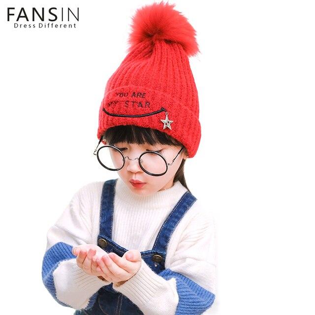 Fansin Marca Tú Eres Mi Estrella Crochet Sombrero de Los Niños de La ...