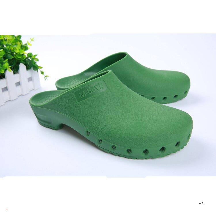 Hombres Mujeres Classic Anti-estática ESD Zapatos de Seguridad Zapatos Quirúrgicos Médico Quirúrgico Autoclavable Anti Bacterias Zuecos de Trabajo Para Salas Blancas