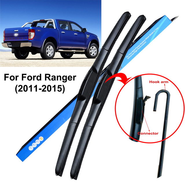 For Ford Ranger T7 1999 To 2018 Car Wiper Blades Windshield Wipers Janitors Windscreen
