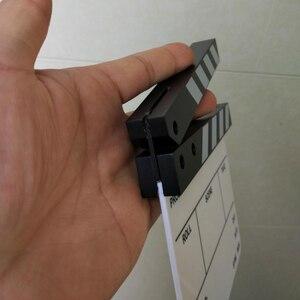 """Image 4 - Macchina Fotografica in studio Fotografia Video Acrilico Piccolo Assicella Dry Erase Regista Cinematografico Movie Clapper Board Ardesia (6.3x5.5"""" /16x14 cm)"""