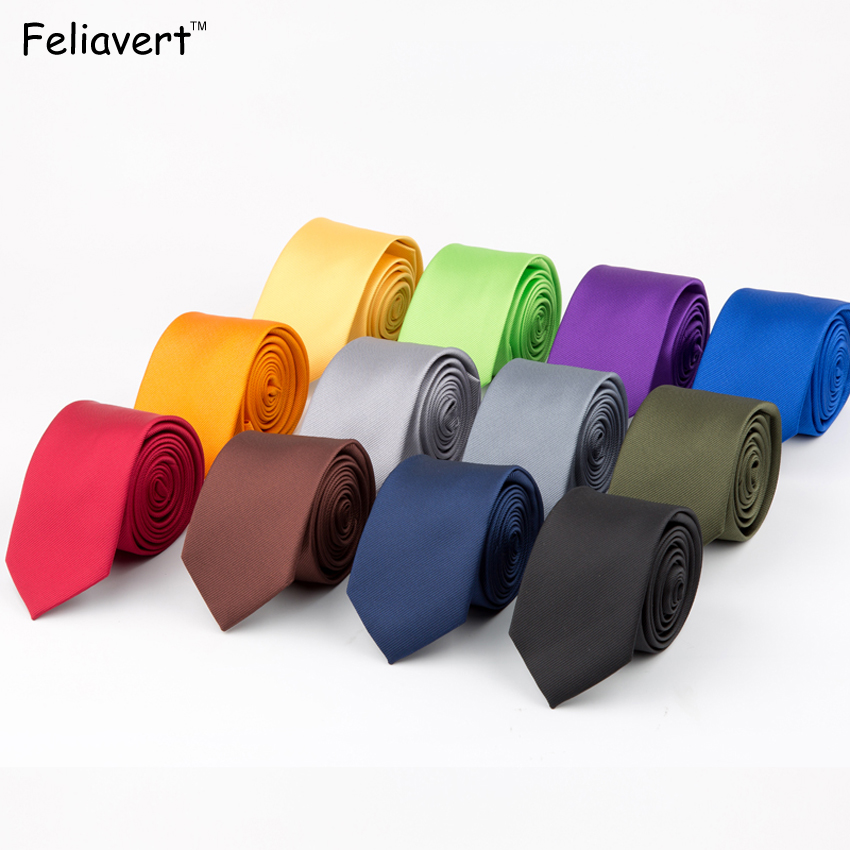 Fashion Solid Mens Ties