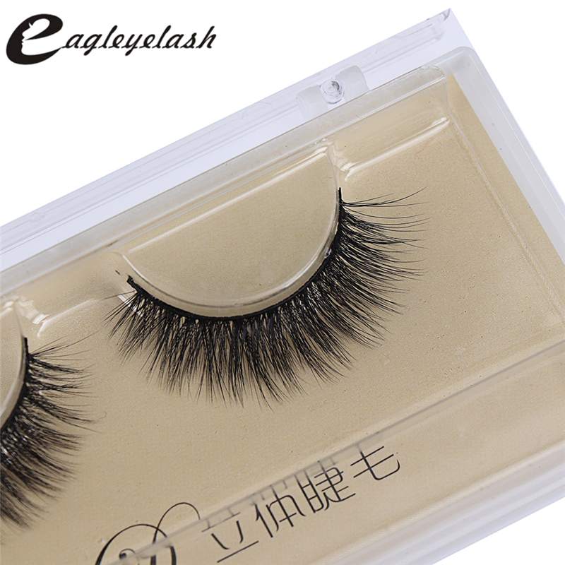Top sale 3D Mink Lashes Natural HandMade Full Strip Lashes ...