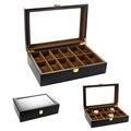2020 Роскошные 12 Сетки деревянные часы ручной работы коробка деревянные часы в коробке коробка времени для часов