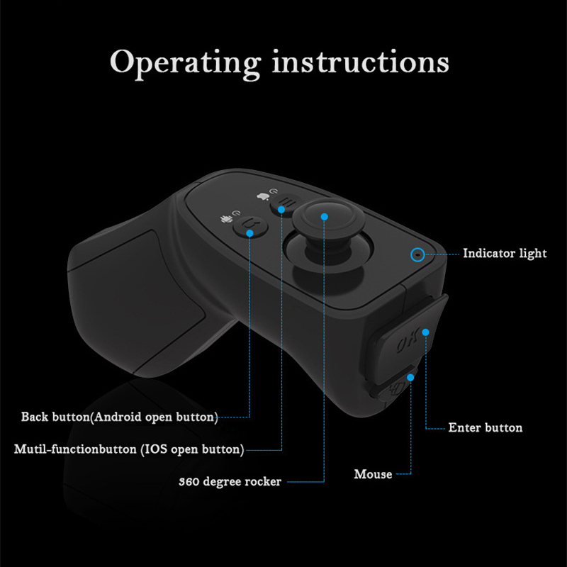 VR Box 3D Glasses Virtual Reality Play Game Console Movie For All Smart Phone With Bluetooth  Controller B 23