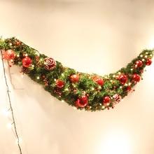 Christmas Ornaments Christmas Rattan Door Vineyard Christmas Balls Decorative Ornaments Window Ornaments Wreaths Christmas Gifts