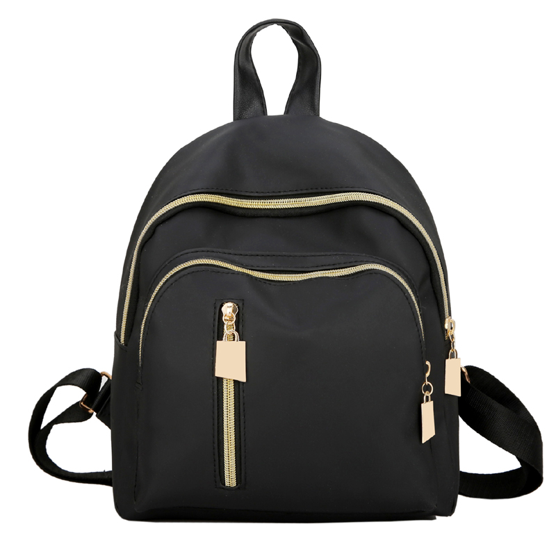 2017 Fashion Women waterproof oxford backpack Brand new ladies Black backpacks for teenage girls school Student shoulder bags 2017 fashion women waterproof oxford backpack famous designers brand shoulder bag leisure backpack for girl and college student