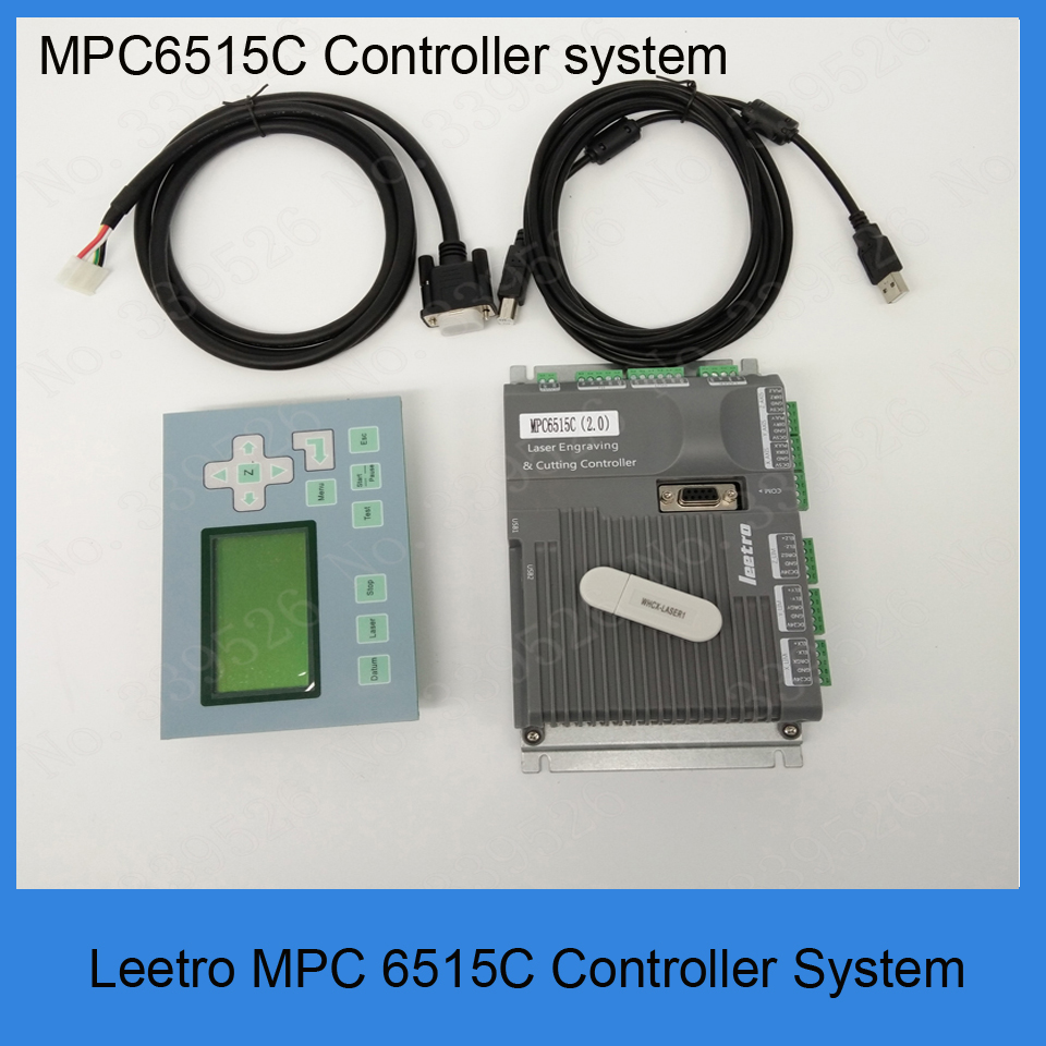 New Version Leetro MPC6515C laser DSP controller 3 axis motionfor CO2 laser cutting machine,replace old MPC6515 MPC6515A leetro mpc6515 laser controller board for sale mpc6515c controller system