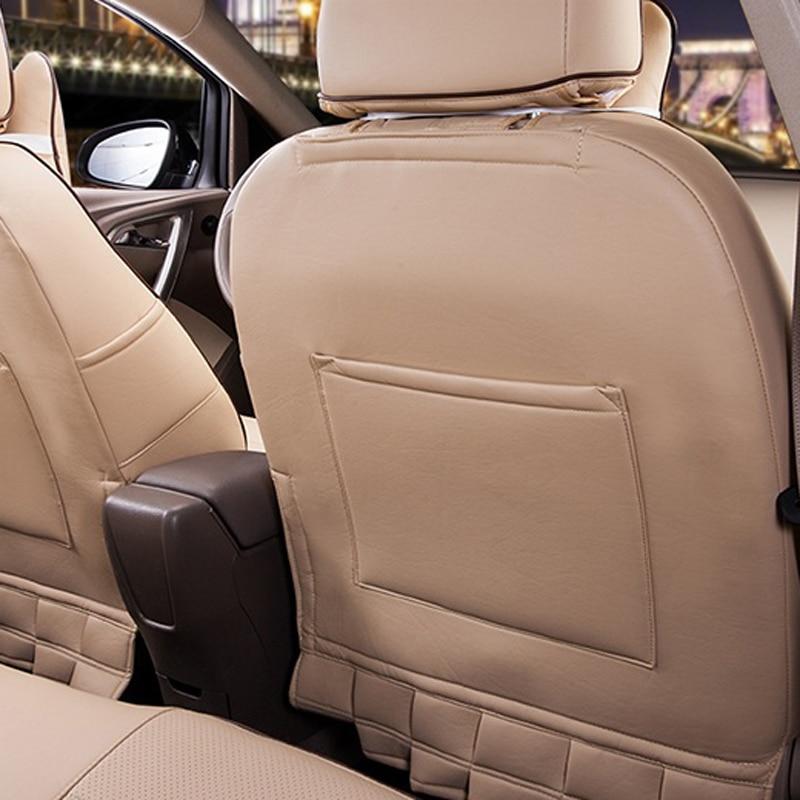 Hyundai New SantaFe oturacaqları üçün CARTAILOR PVC dəri - Avtomobil daxili aksesuarları - Fotoqrafiya 5
