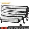 """Auxmart 5D 22"""" 32"""" 42"""" 50"""" 52"""" 54"""" curved LED light bar 12v 24v combo beam LED Bar Offroad camper truck 4x4 4WD SUV ATV Barra"""