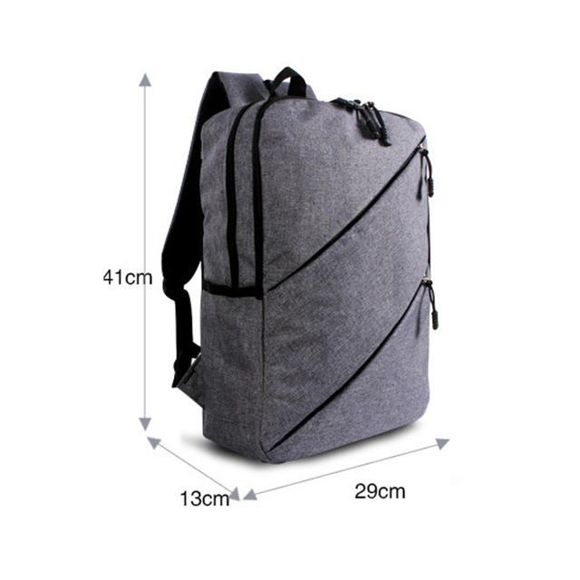 Men Canvas Backpack for Tablet