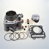 For Suzuki Superman AN150 City QS150T Sets Of Cylinder Piston Cylinder Sleeve CLS QS150T A