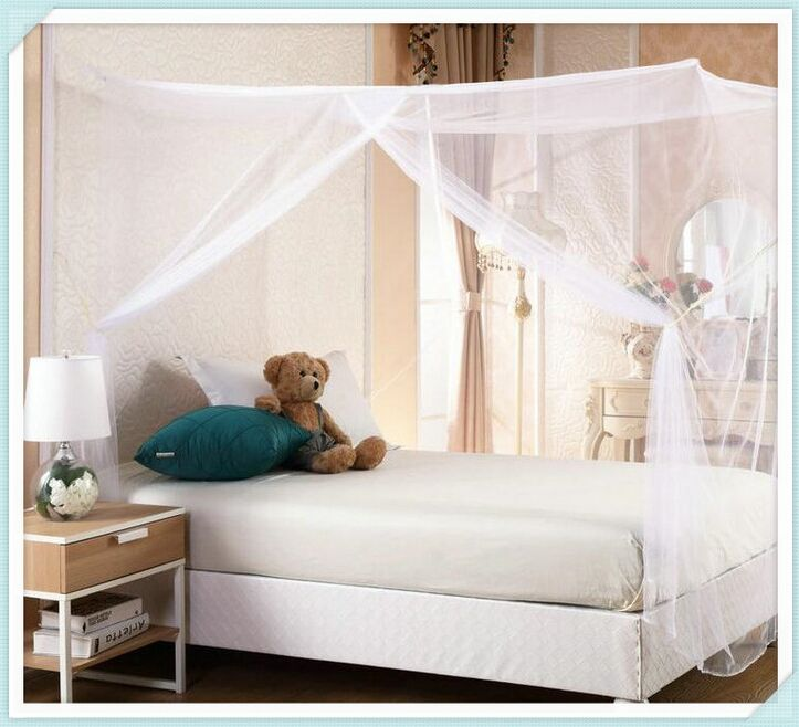 Mosquito Net Bug Insect Repeller Box Shape Travel Camping Home Single Double Bed high quality single door 1.8m*2m 2m*2.2m