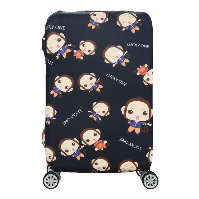 HMUNII Elastic Luggage Protective Cover For 19-32 inch Trolley Suitcase Protect Dust Bag Case Child Cartoon Travel Accessories 3