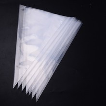 50pcs PE PASTRY BAG  Disposable cake Decorating Piping Icing Bags Set - Larger 16 Inch
