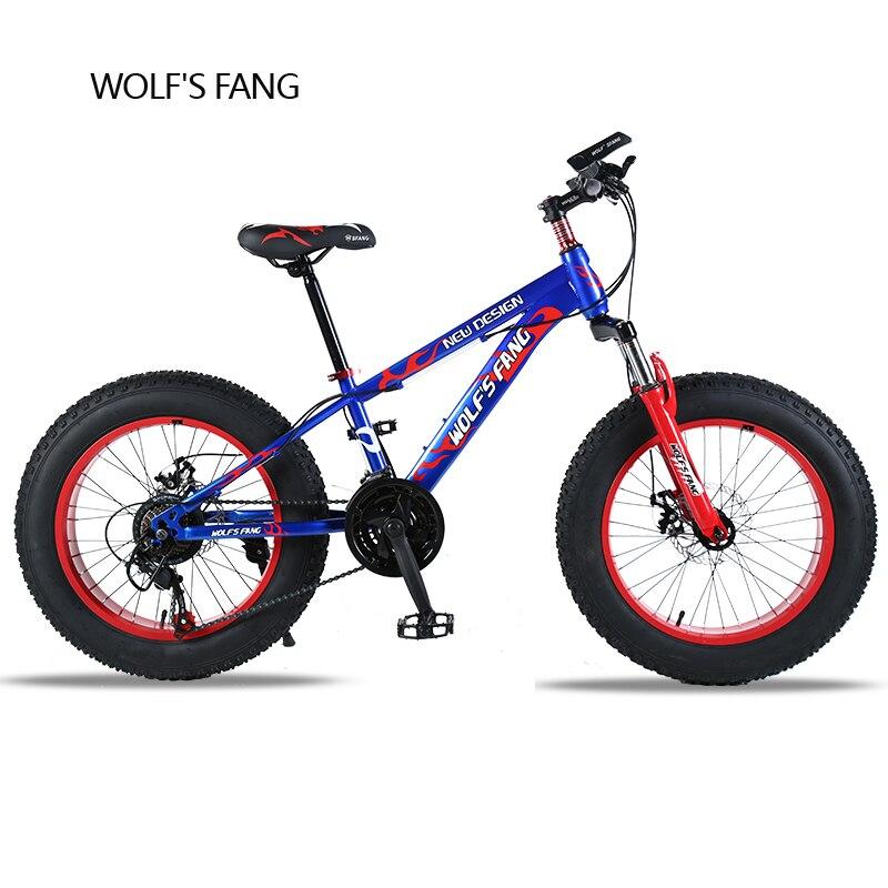 Bicycle 20X 4.0 Mountain Bike Fat Bike road bike 21 speed Front and Rear Mechanical Disc Brake Hard Frame Unisex Snow bike